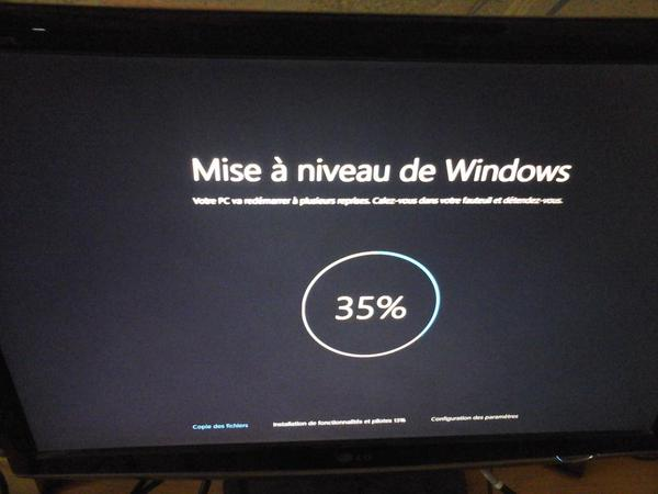 Mise à jour de Windows 10